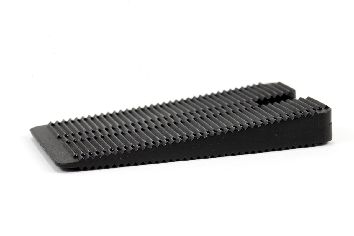 Soft Black Standard Size Wobble Wedge Ideal Table Shim