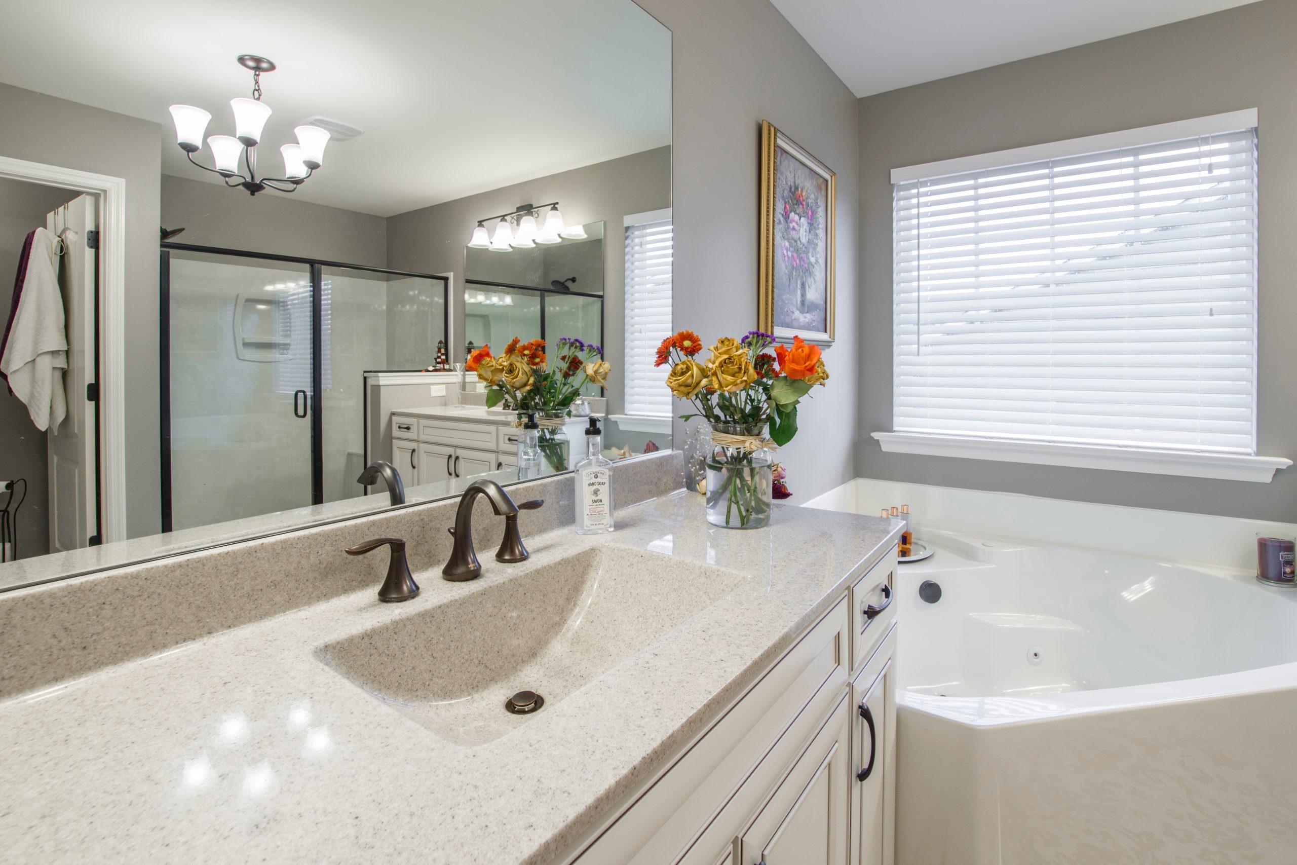 Leveling A Bathroom Vanity Wobble Wedges