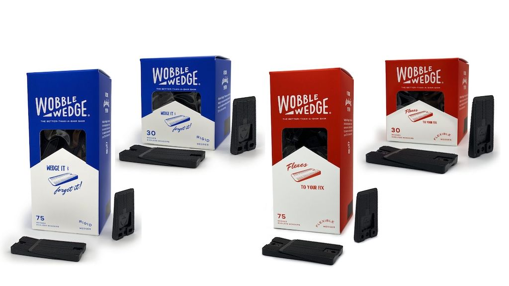 Wobble Wedges ® Fresh New Look