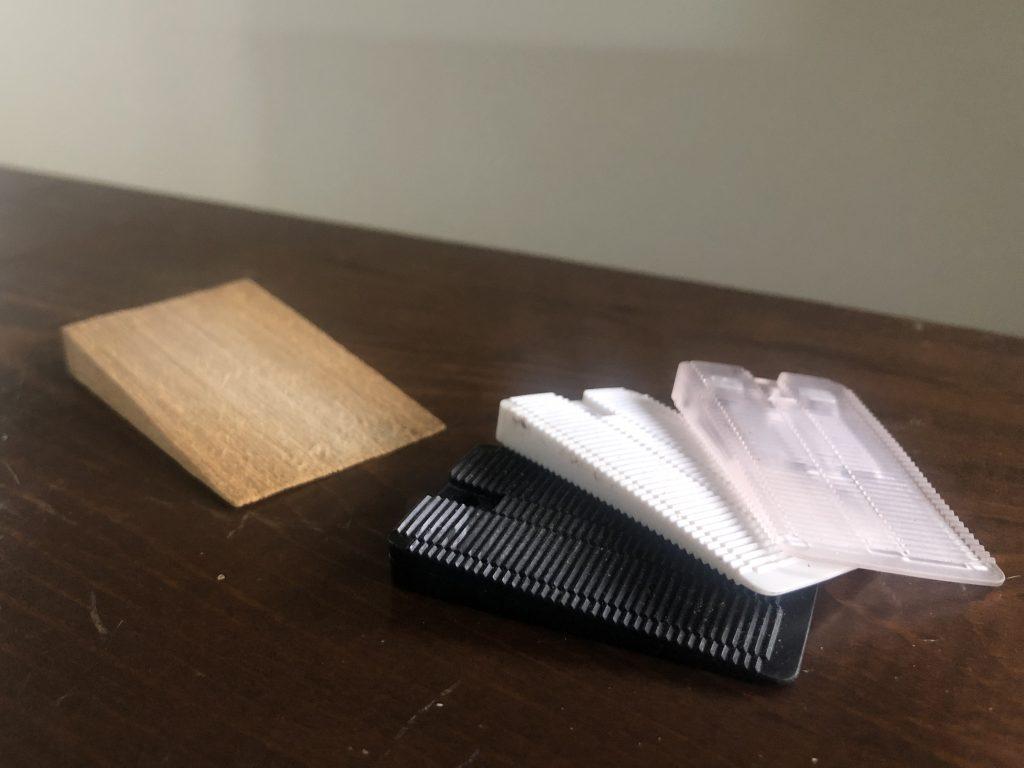 Plastic Shims vs. Wood Shims